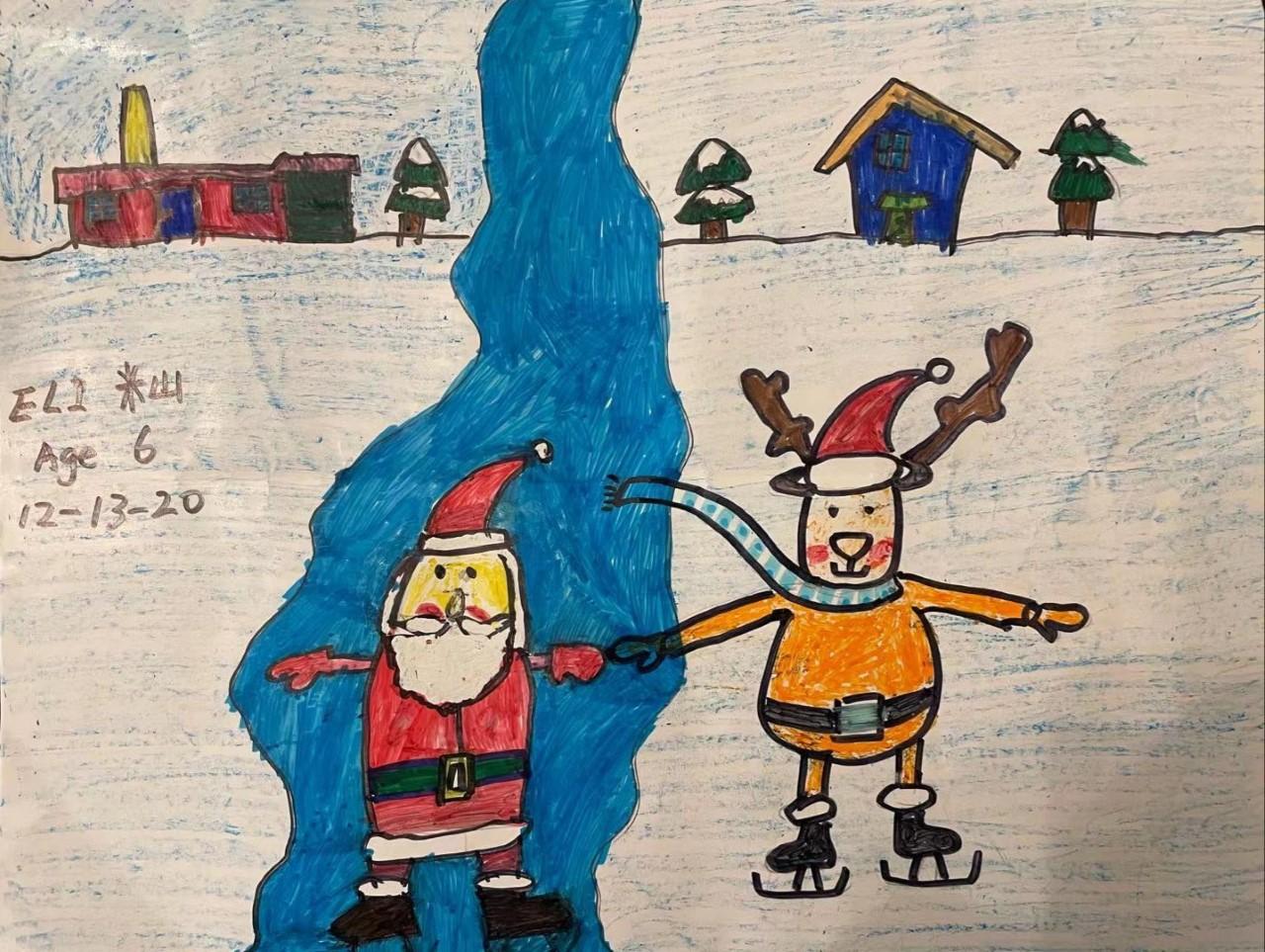 黄老师-米山-圣诞老人